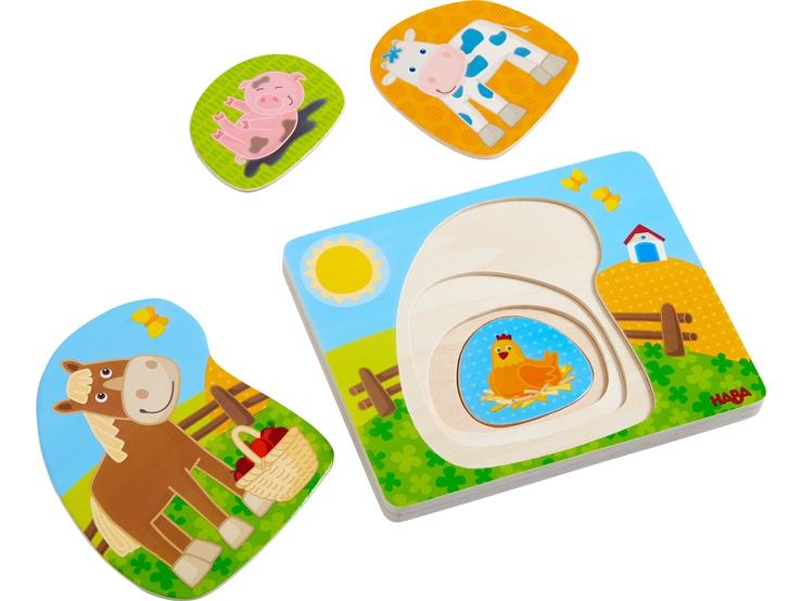 Puzzle - układanka Zabawa na farmie