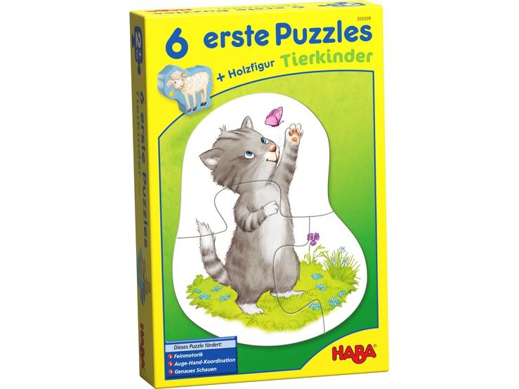 Pierwsze puzzle Małe Zwierzątka