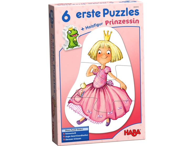 Pierwsze puzzle Księżniczka