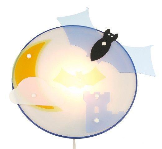 Lampa - kinkiet Nietoperz