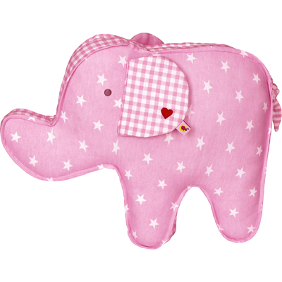 Poduszka różowa Słonik Baby Charms