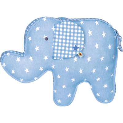 Poduszka niebieska Słonik Baby Charms