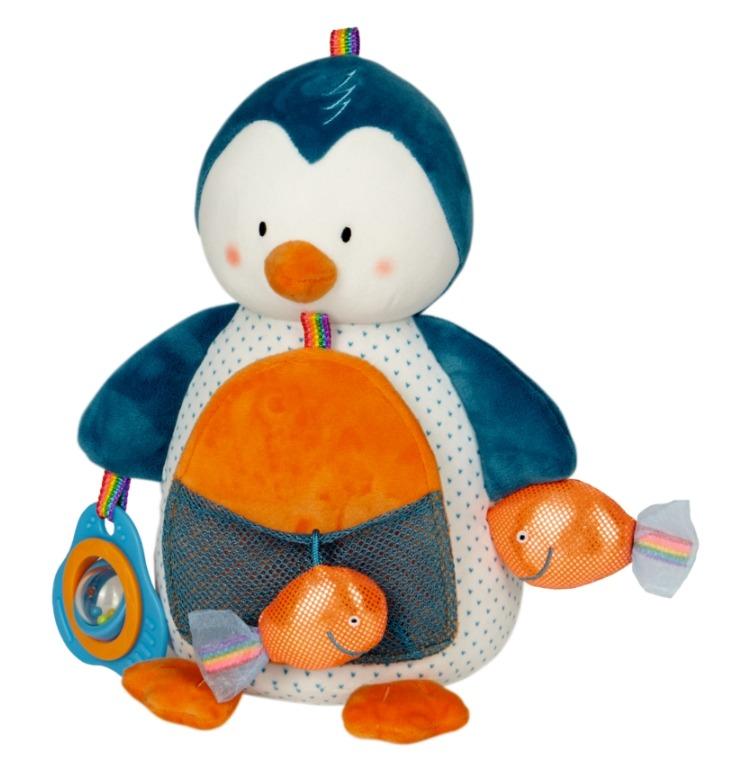Pingwinek edukacyjny z pozytywką