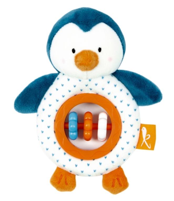 Grzechotka - gryzak Pingwinek
