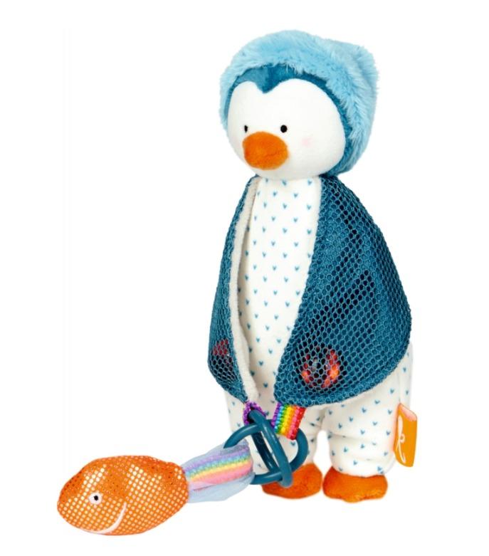 Gryzak - zawieszka do smoczka Pingwinek