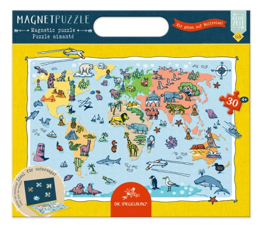 Puzzle magnetyczne Travel Time